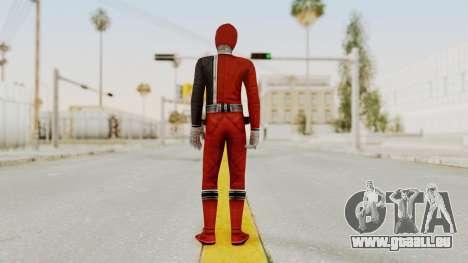 Power Rangers S.P.D - Red für GTA San Andreas dritten Screenshot