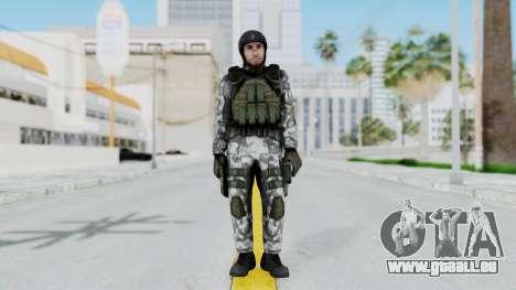 Black Mesa - HECU Marine v3 pour GTA San Andreas deuxième écran