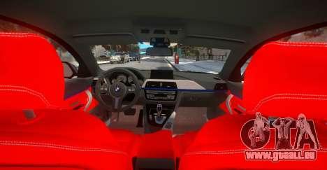 BMW 435i Coupe für GTA 4 Rückansicht