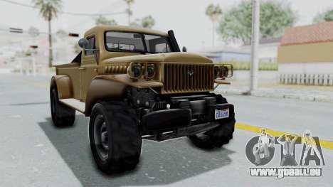 GTA 5 Bravado Duneloader Cleaner pour GTA San Andreas