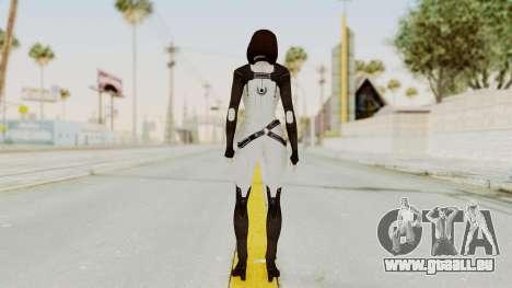 ME3 Dr. Eva Custom Miranda Castsuit pour GTA San Andreas troisième écran