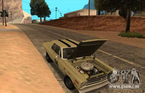 Plymouth Belvedere 2-door Sedan 1965 für GTA San Andreas rechten Ansicht