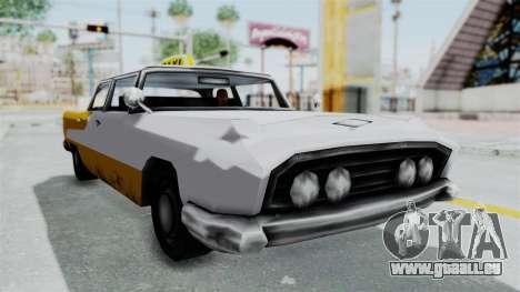GTA VC Oceanic Taxi pour GTA San Andreas vue de droite