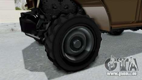 GTA 5 Bravado Duneloader Cleaner pour GTA San Andreas vue arrière