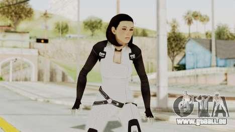 ME3 Dr. Eva Custom Miranda Castsuit für GTA San Andreas