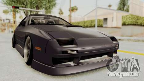 Mazda RX-7 1990 (FC3S) Cordelia Glauca Itasha pour GTA San Andreas vue de droite