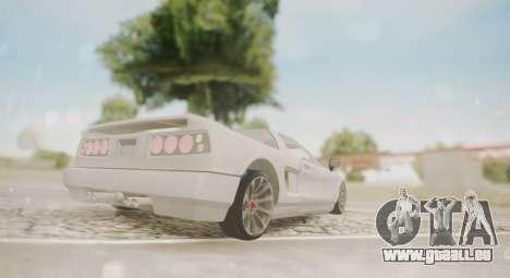 Infernus pour GTA San Andreas vue de droite