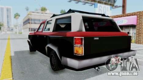 VCS Gang Rancher für GTA San Andreas linke Ansicht