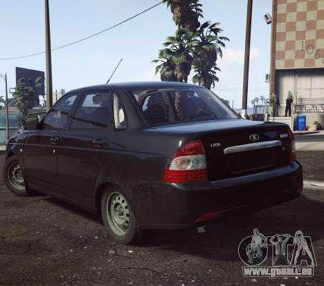 GTA 5 VAZ 2170 droite vue latérale