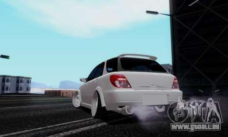 Subaru Impreza WRX STi Wagon Stens pour GTA San Andreas laissé vue