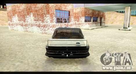 BMW 3.0 CSL pour GTA San Andreas vue de droite