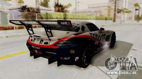 Mercedes-Benz SLS AMG GT3 PJ1 pour GTA San Andreas roue