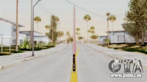 Star Wars LightSaber Red für GTA San Andreas zweiten Screenshot