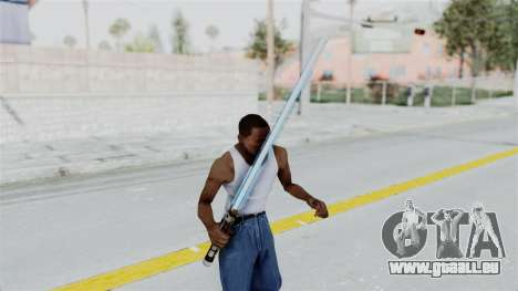 Star Wars LightSaber Blue für GTA San Andreas