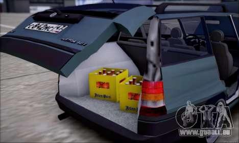 Opel Astra für GTA San Andreas Unteransicht
