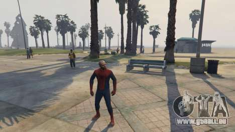 GTA 5 Amazing Spiderman quatrième capture d'écran