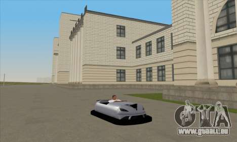 Das Auto für die Rennstrecke für GTA San Andreas