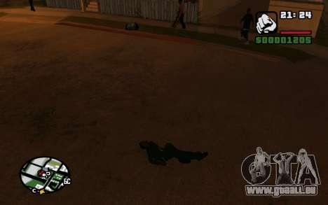 CJ Animation ped pour GTA San Andreas quatrième écran