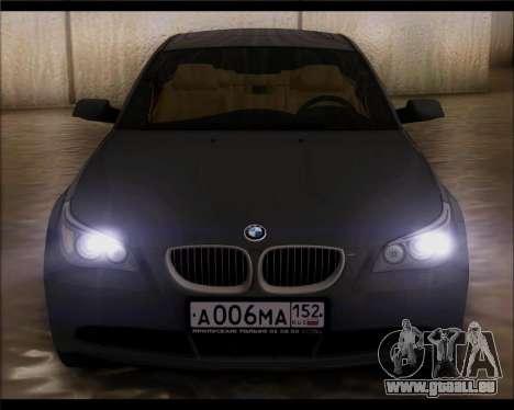 BMW 530xd stock für GTA San Andreas rechten Ansicht