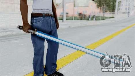 Star Wars LightSaber Blue für GTA San Andreas dritten Screenshot