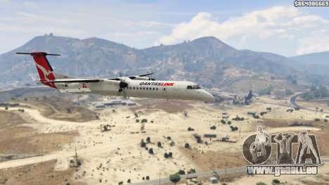 GTA 5 Bombardier Dash 8Q-400 sixième capture d'écran