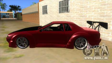Elegy Tio Sam Style pour GTA San Andreas laissé vue