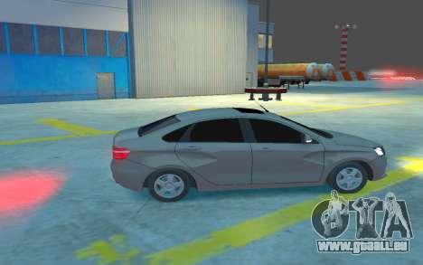 Lada Vesta pour GTA 4 Vue arrière