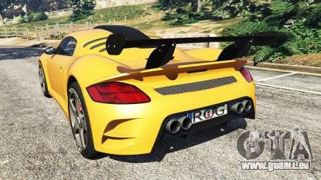 GTA 5 Ruf CTR3 v1.1 arrière vue latérale gauche
