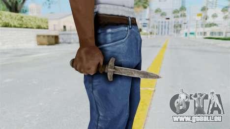 Skyrim Iron Dager für GTA San Andreas dritten Screenshot