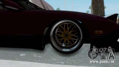 Nissan 180SX TOD pour GTA San Andreas vue arrière