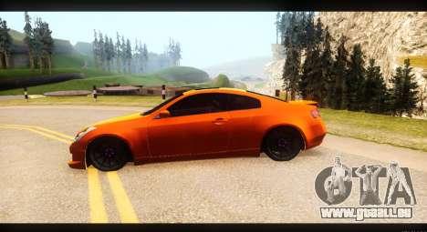 Infiniti G35 für GTA San Andreas rechten Ansicht