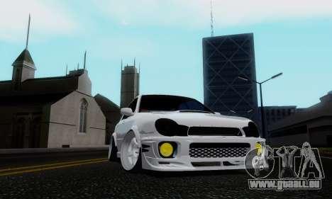 Subaru Impreza WRX STi Wagon Stens pour GTA San Andreas