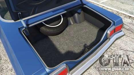 GTA 5 Oldsmobile Delta 88 1973 v2.0 Lenkrad