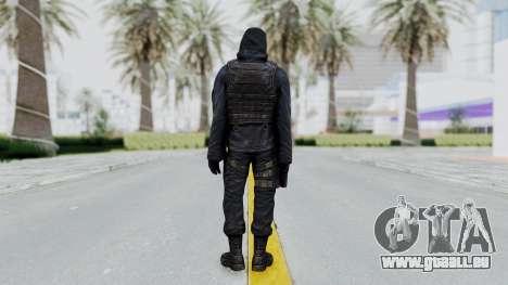 SAS No Gas Mask from CSO2 pour GTA San Andreas troisième écran