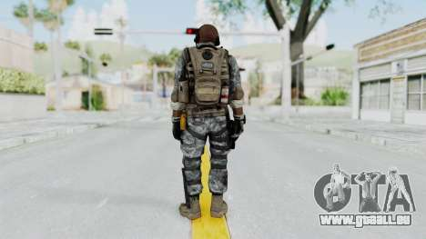 Battery Online Soldier 6 v1 pour GTA San Andreas troisième écran