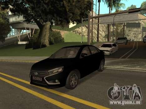 Lada Vesta pour GTA San Andreas