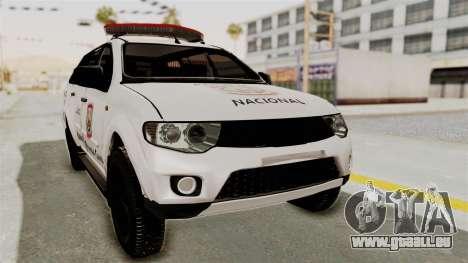 Mitsubishi Pajero Policia Nacional Paraguaya für GTA San Andreas