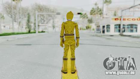Power Rangers Dino Thunder - Yellow für GTA San Andreas dritten Screenshot