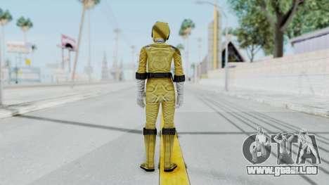Power Rangers RPM - Yellow pour GTA San Andreas troisième écran