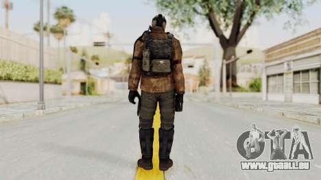 CoD AW KVA Shotgun für GTA San Andreas dritten Screenshot