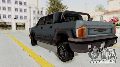 GTA 3 Cartel Cruiser pour GTA San Andreas laissé vue