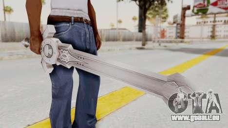 Horse Orphnoch Sword für GTA San Andreas dritten Screenshot