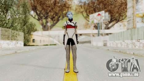 Mass Effect 2 Rana Thanoptis für GTA San Andreas zweiten Screenshot