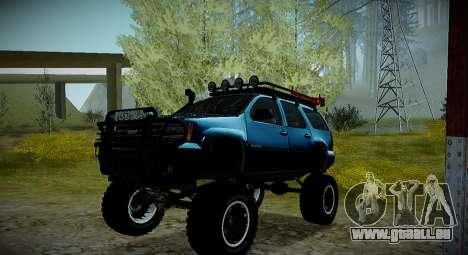 Chevrolet Tahoe LTZ 4x4 pour GTA San Andreas