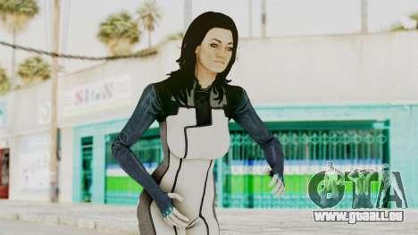 Mass Effect 3 Miranda in Evas Catsuit für GTA San Andreas