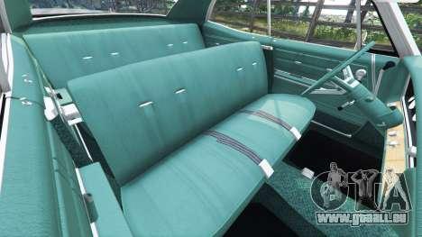 GTA 5 Chevrolet Impala 1967 droite vue latérale