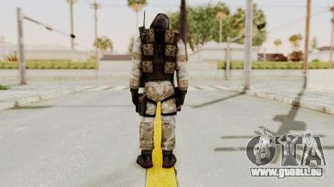 Hodeed SAS 10 pour GTA San Andreas troisième écran