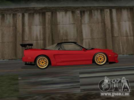 Honda NSX (NA1) Time Attack für GTA San Andreas linke Ansicht