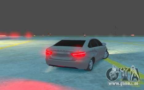 Lada Vesta pour GTA 4 est un droit