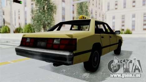 GTA Vice City - Taxi pour GTA San Andreas laissé vue